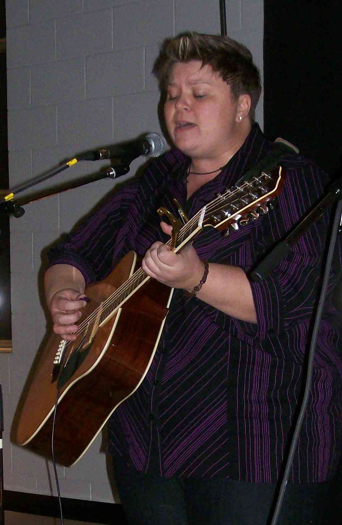 Tina Dionne at BWFC January 16, 2009