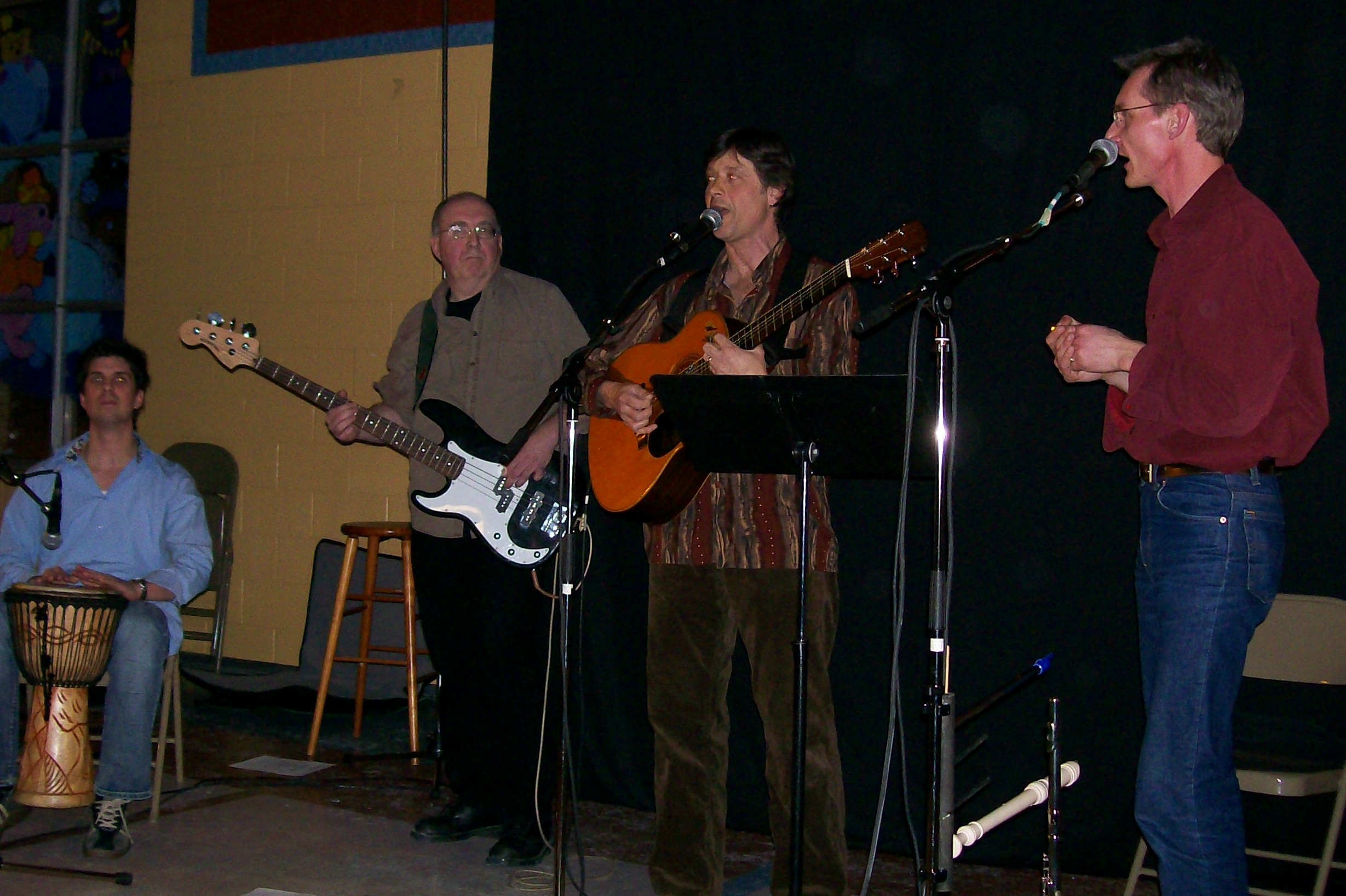 David Marantha and Band at the Balck Walnut Folk Club February 16, 2007